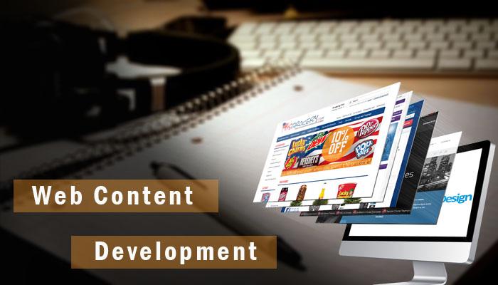 ایجاد محتوای وب