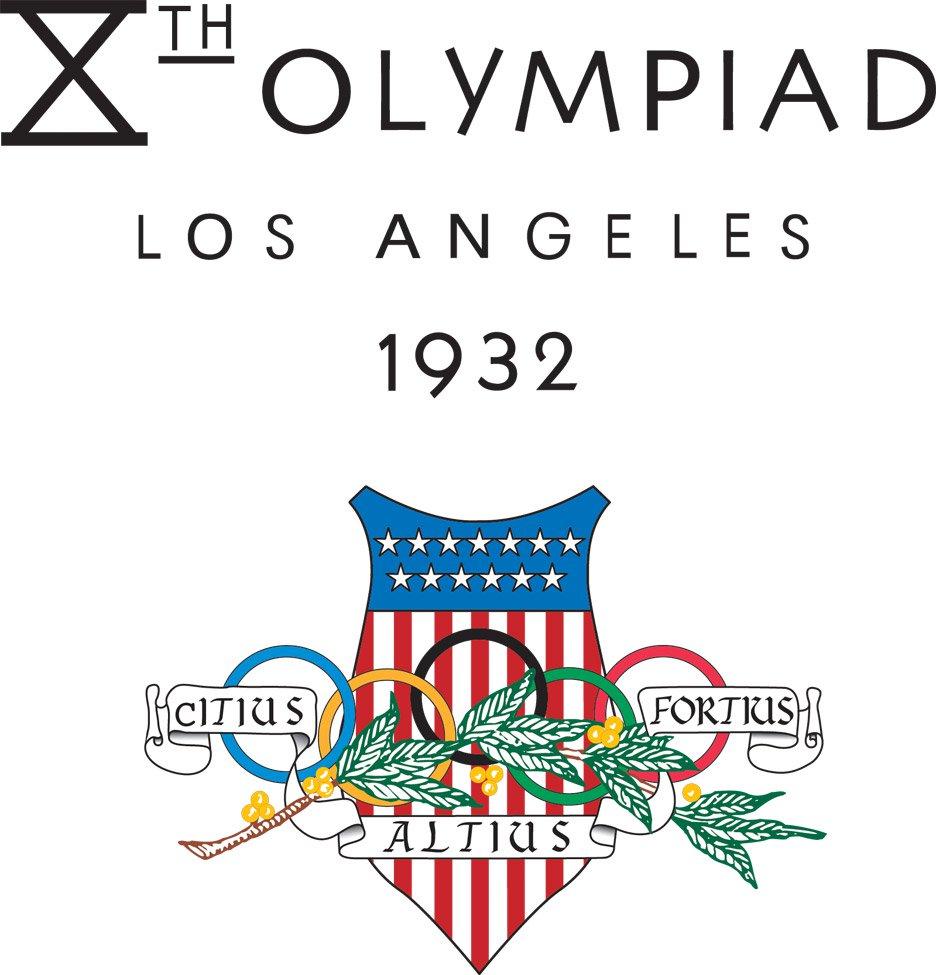 طراحی لوگو المپیک لس انجلس ۱۹۳۲