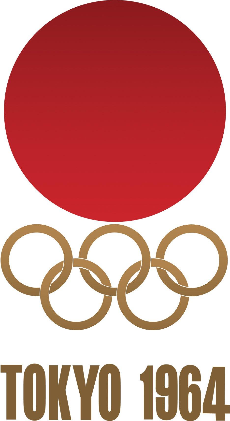 طراحی لوگو توکیو ۱۹۶۴